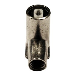 C95H-6 / Conector IEC acodado hembra roscado para cables de 6,6 a 6,8mm