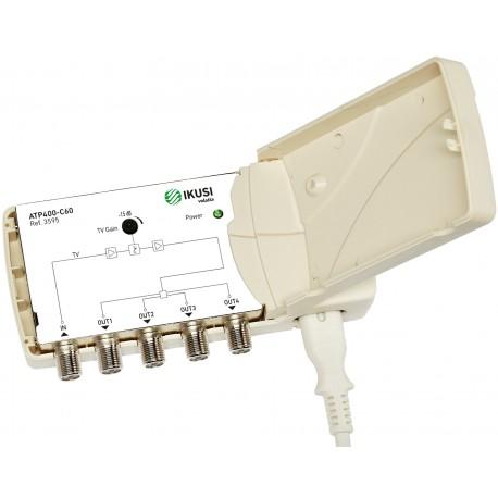 ATP-400 / Amplificador de Vivienda 1 IN - 4 OUT 22dB