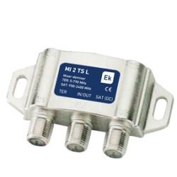 MI2TS-L / Mezclador / Desmezclador TV-SAT