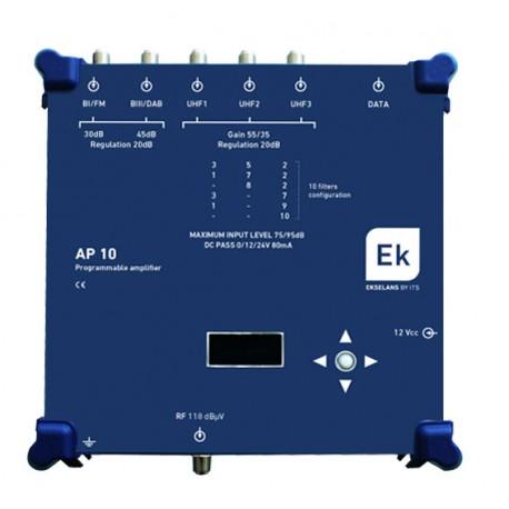 AP10 / Cabecera Programable 5 entradas 55/35dB (UHF)