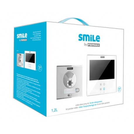 "5074 / Kit videoportero color Smile Touch 7"" VDS 1L Monitor manos libres"