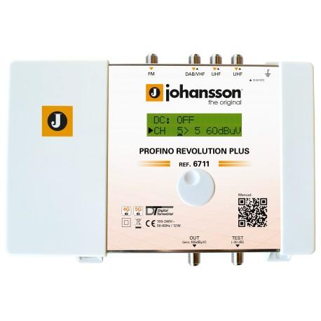 PROFINO REVOLUTION PLUS (6711) / Cabecera Programable 4 entradas 45dB (UHF)