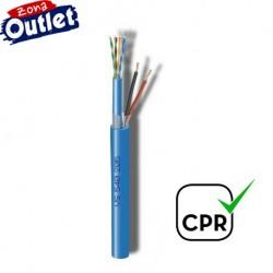 UTP+2x1 / Cable UTP Cat.5e + 2x1mm LSZH (150m)