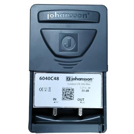 JH6040-C48 / Filtro LTE-2 5G para Mástil corte Canal 48