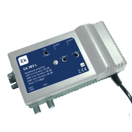 CA383-L / Amplificador Multibanda 3 entradas 36dB (UHF) LTE