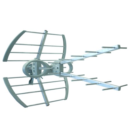 EK70-6 / Antena exterior UHF 13dB dipolo compacto