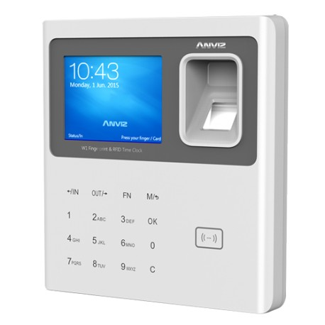 W1ID / Terminal de Control de Presencia Huellas dactilares, tarjetas RFID y teclado
