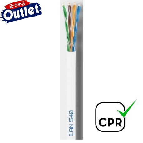 LAN-540 / Cable UTP Categoría 5e PVC blanco Cu (300m)