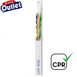 LAN-640 / Cable UTP Categoría 6 PVC blanco Cu (200m)