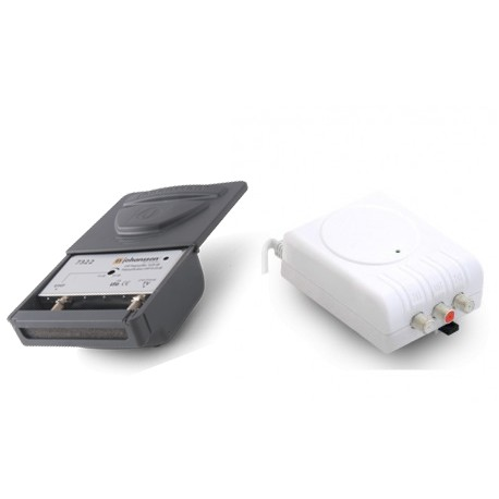 7322/2436 / Kit Amplificador mástil UHF 25dB + F. A. LTE2 (5G)