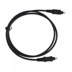 TOSLINK-1,5 / Cable fibra óptica audio TOSLINK macho (1,5m)