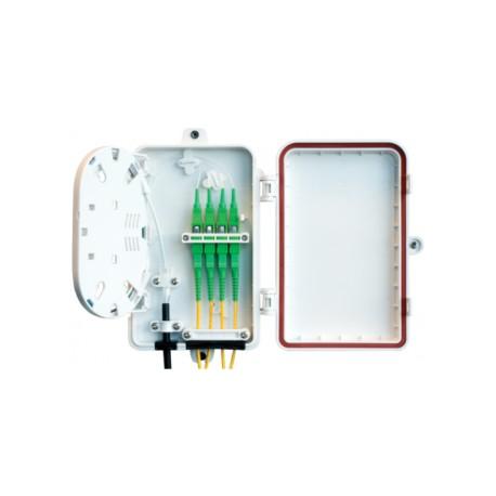 LOMX04 / Caja mural plástica IP65 4 FO registro secundario