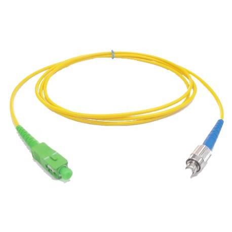 LSAFP-1 / Latiguillo SC/APC - FC/PC Monomodo simplex 1m