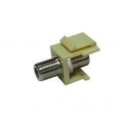 FFKJ / Adaptador doble conector F para patch panel