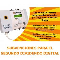 Subvenciones para el Segundo Dividendo Digital