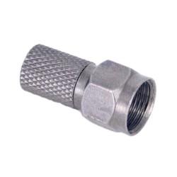 CFR6 HQ / Conector roscado tipo F cables 6,6-6,9mm con junta tórica