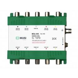 MSA-005 / Amplificador FI, 5 entradas, 5 salidas 4 FI SAT + Terrestre