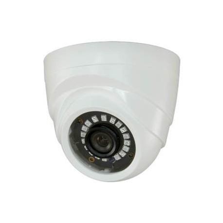 908IB4N1 / Cámara Domo 4 en 1 Interior HD 720p Lente 3,6mm IR 20m