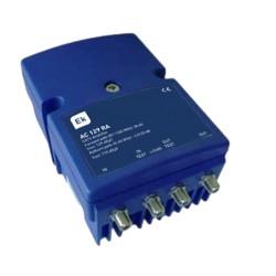AC129 RA / Amplificador de línea CATV 1 entrada 38dB con retorno activo/pasivo