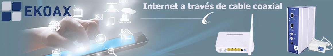 EKOAX - INTERNET A TRAVÉS DE COAXIAL